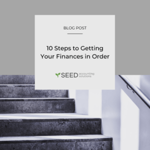 10 steps to getting your finances in order